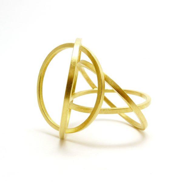 atomo - anillo Au 750 amarillo