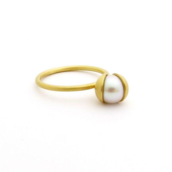 coco - anillo Au 750 amarillo